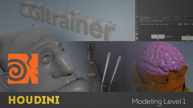 Houdini - Essential Modeling